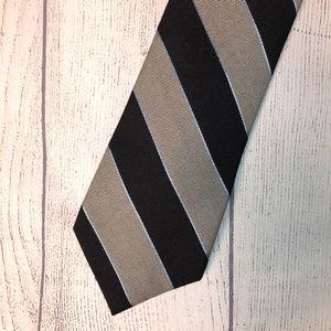 Tommy Hilfiger Navy/Gray Tie